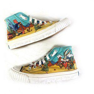 Keds Looney Tunes VTG Womens 8.5 High Top Sneakers